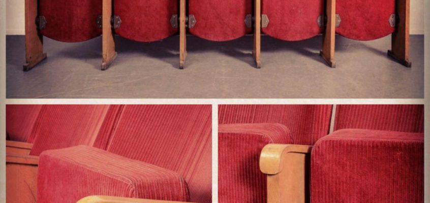 Swedish cinema chairs