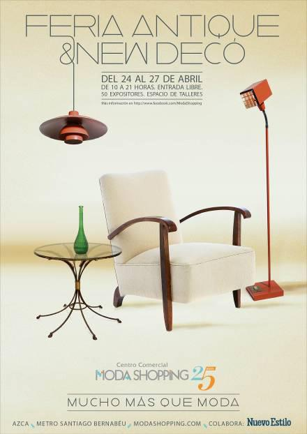 CITA IMPRESCINDIBLE, feria Antique & New Deco.