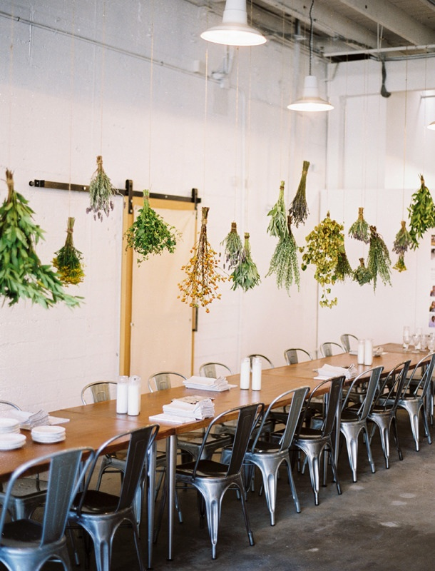 "Kinfolk ""FLOWER POTLUCK"" workshop/dinner"