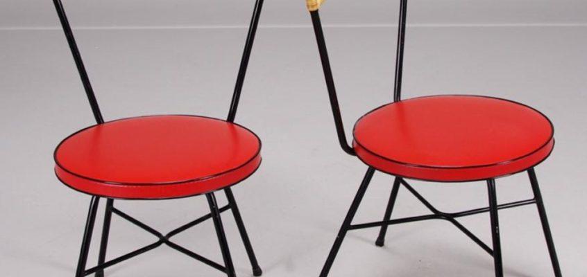 Pareja de sillas suecas años 60/70