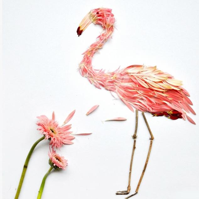 FLOWER PETALS ART
