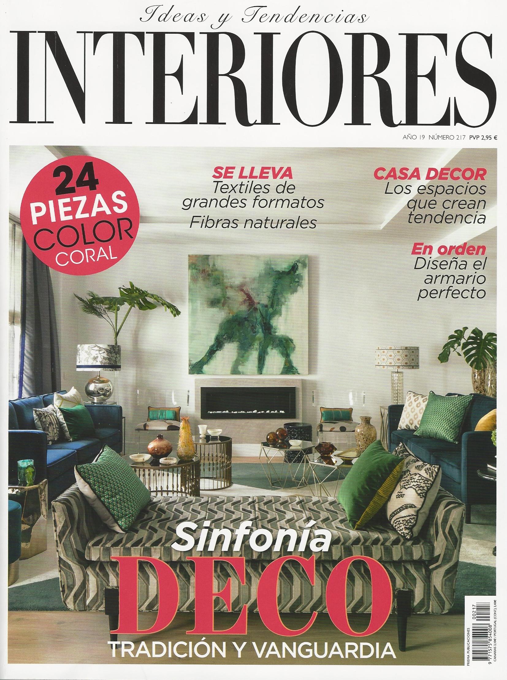 Interiores Magazine, March 2019